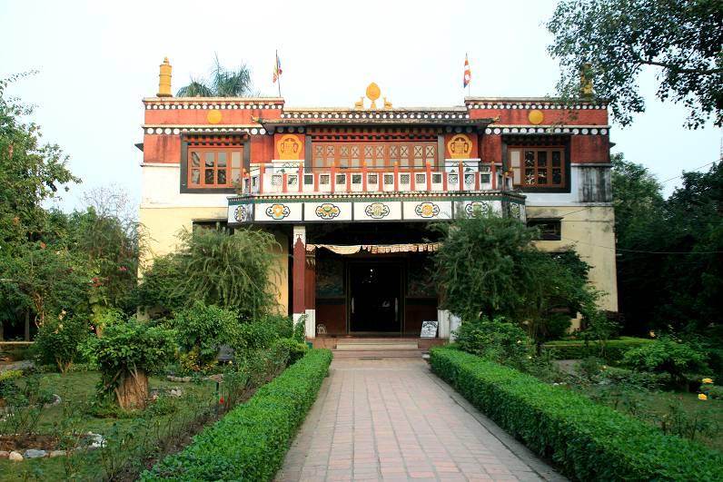 Dharma Swami Vihar - attractions of Lumbini
