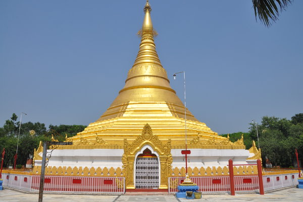 Myanmar 's golden temple- Attractions of Lumbini