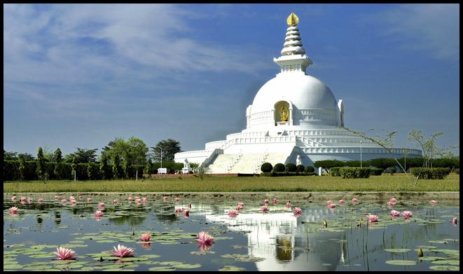 World Peace Pagoda - Attractions of lumbini
