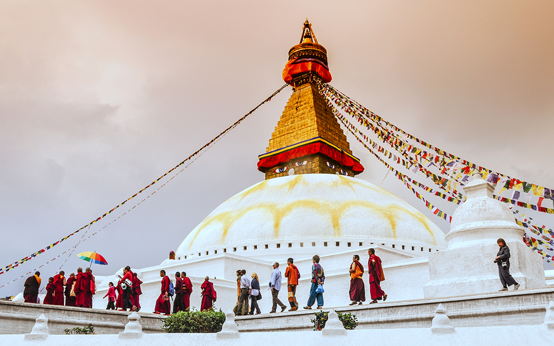 boudhanath - Cultural heritage of Nepal