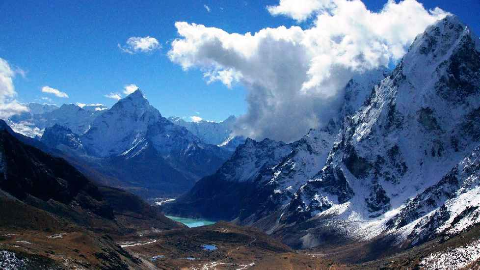 long trekking in Nepal Jiri-chola pass EBC trek