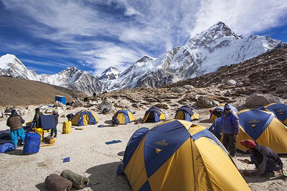 long trekking in Nepal Everest base camp trek