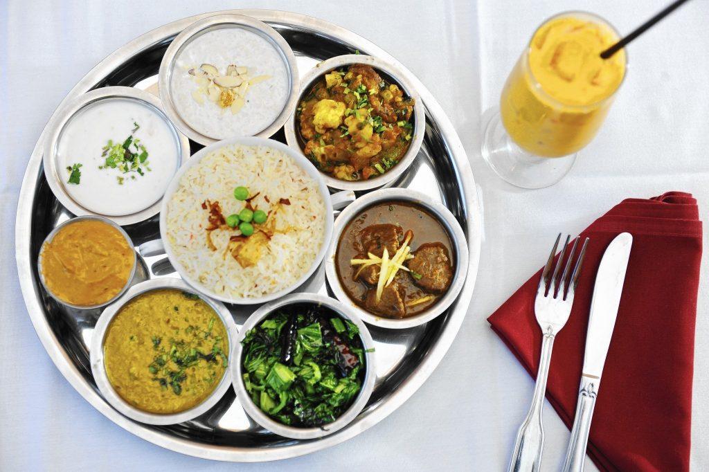trekking in nepal nepali food