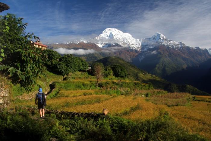 short trekking in Nepal short trekking