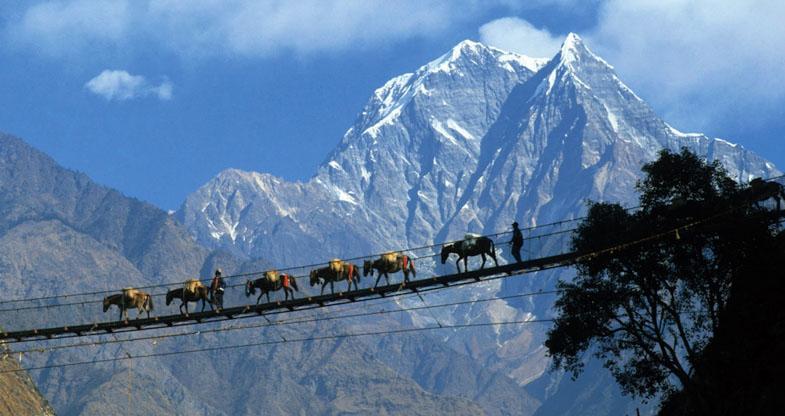 Bridge-Pokhara-View
