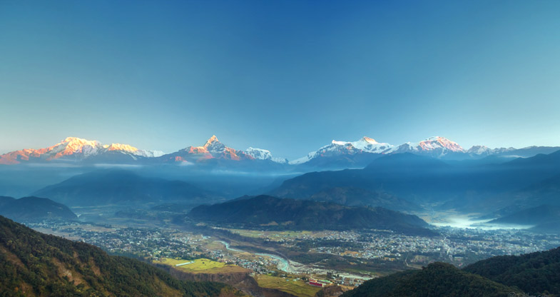 Majestic Machhapuchhre View