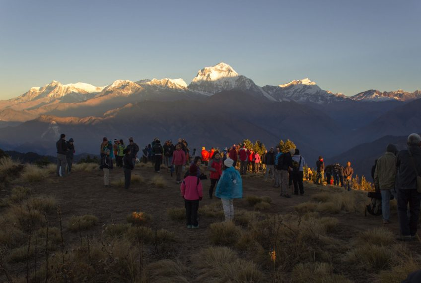 Family Trekking in Nepal