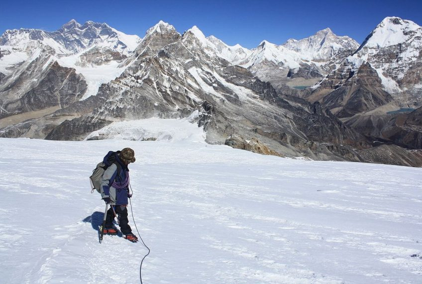 Training for Mera Peak Climbing