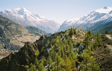 Annapurna Circuit Elevation