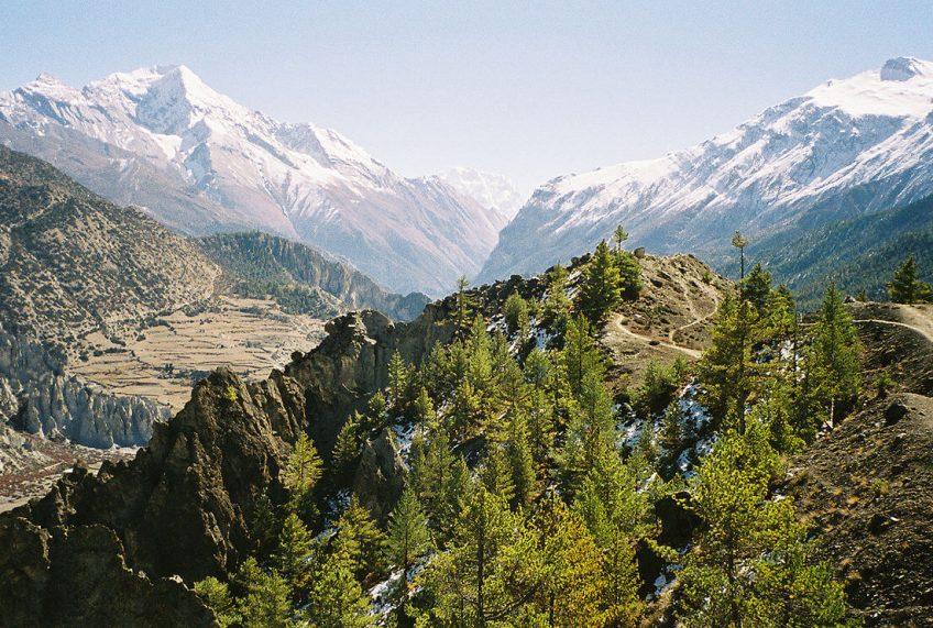 Annapurna Circuit Elevation