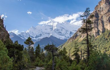 Annapurna Circuit Temperatures November