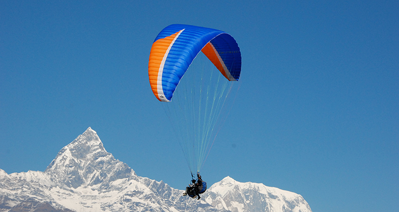 Paragliding in Pokhara (2)
