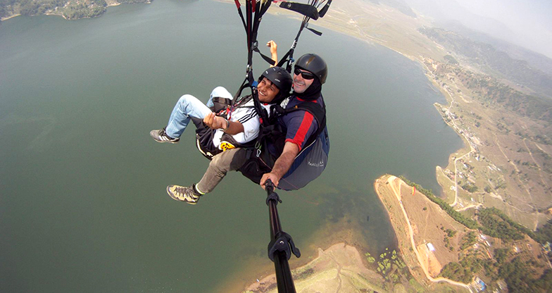 Paragliding in Pokhara (3)
