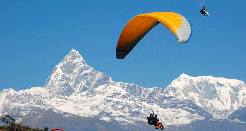 Paragliding in Pokhara (4)