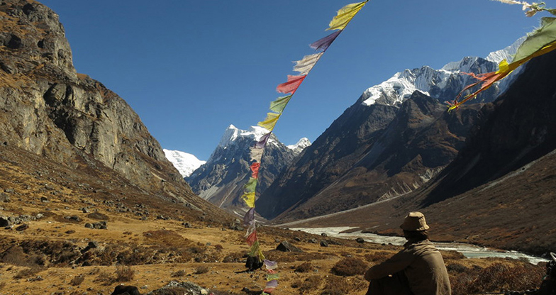 Langtang Valley with Ganja La Pass