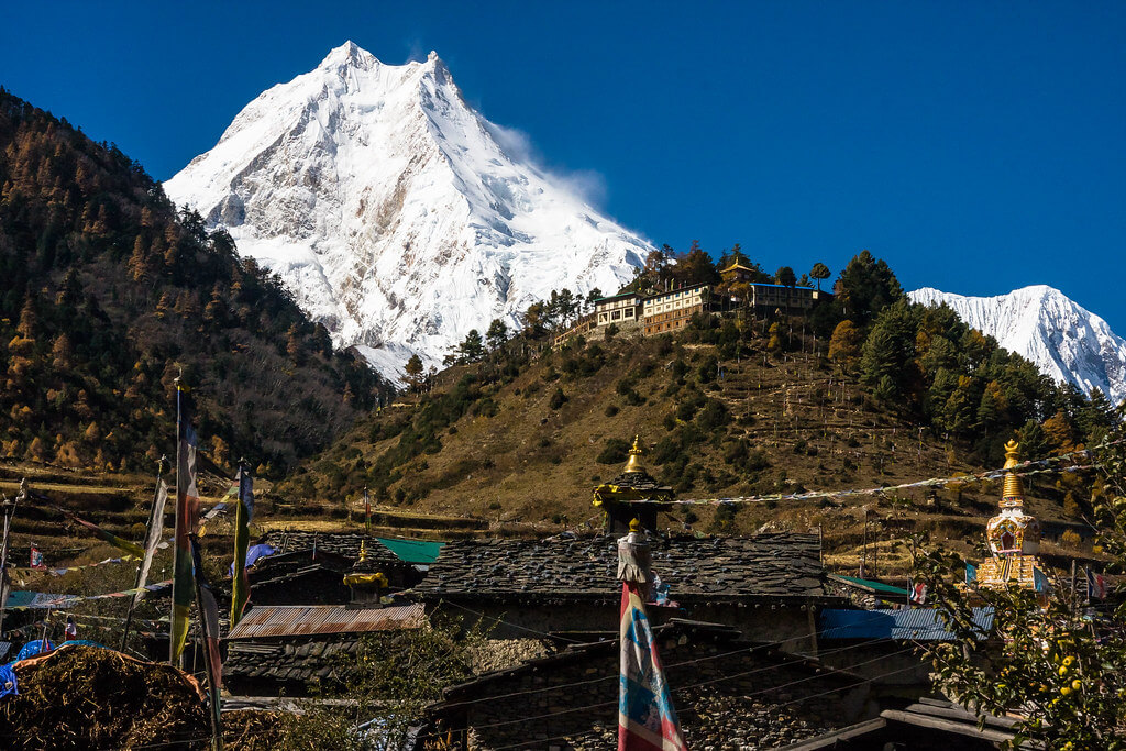Manaslu Circuit Trek View