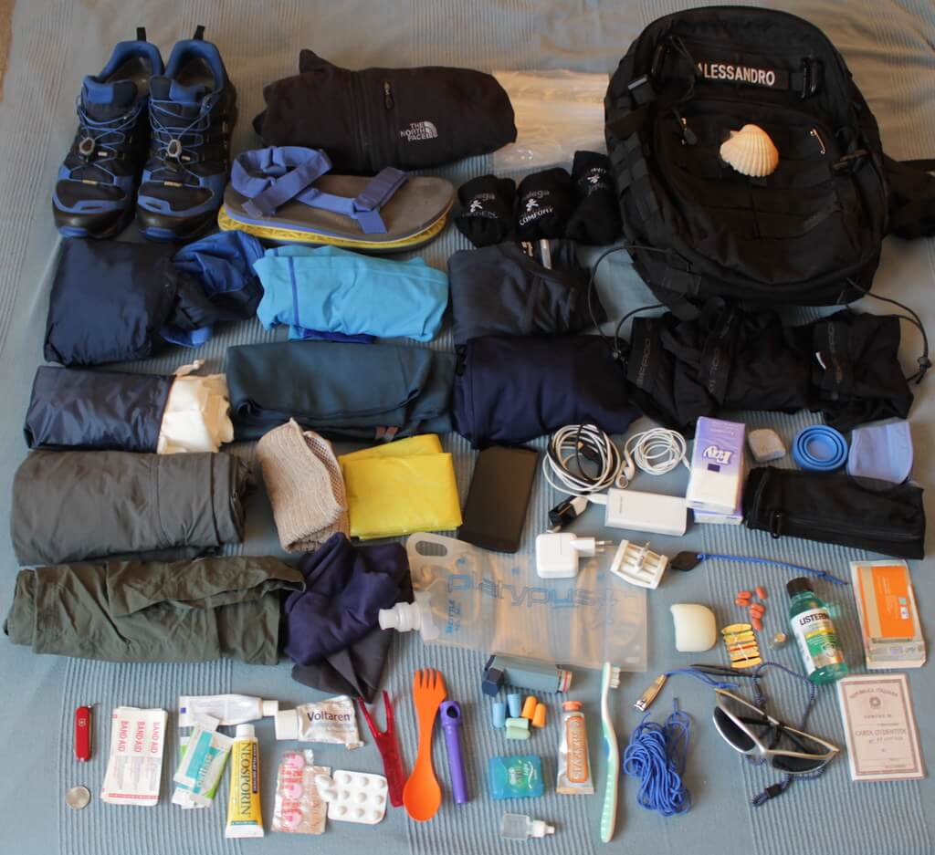 Trekking Equipment and Packing List