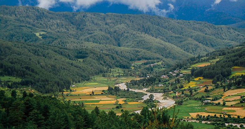 Trekking to Bhumthang-Ura