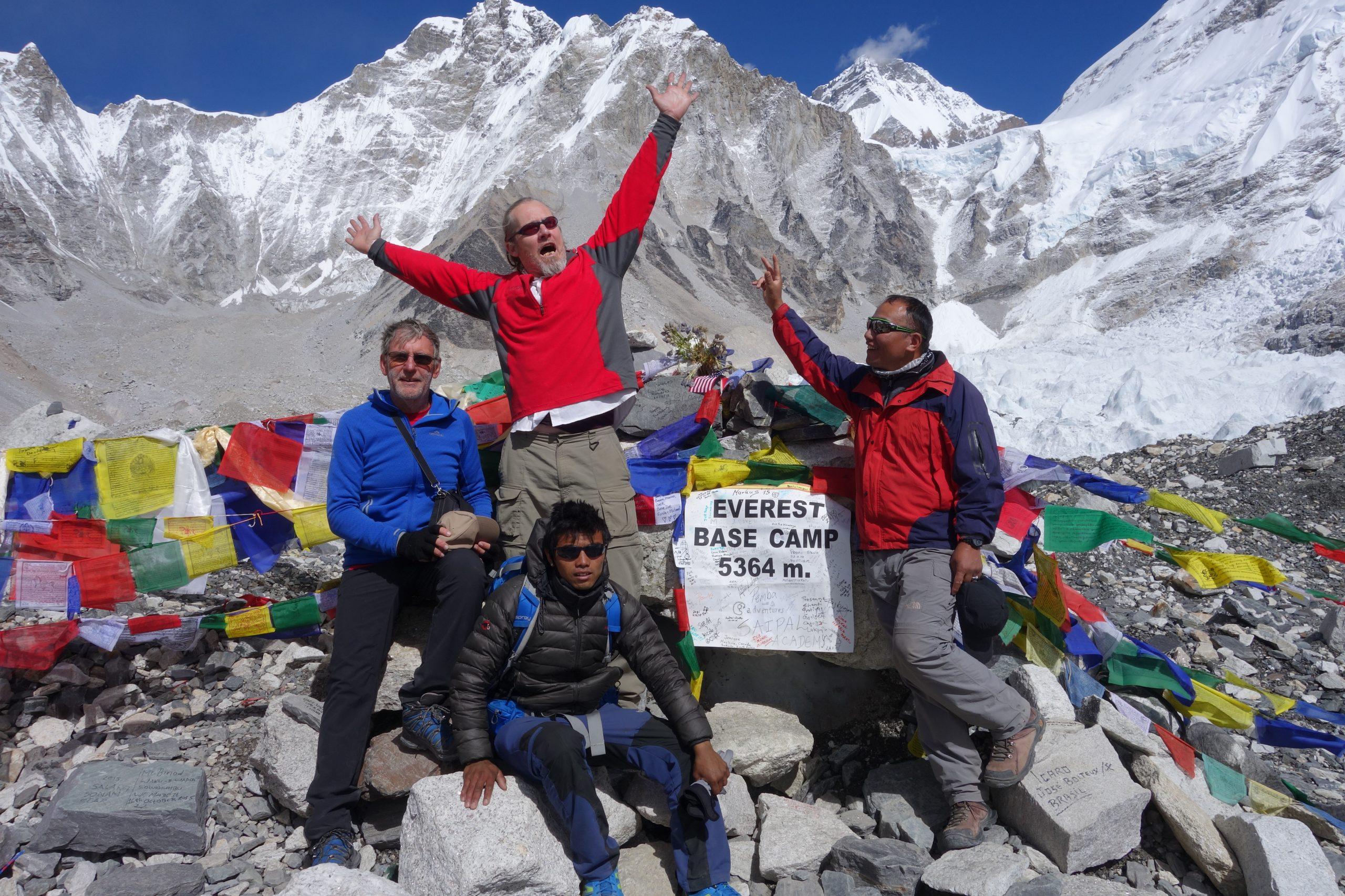 Everest Three High Passes Trek 16 days 5