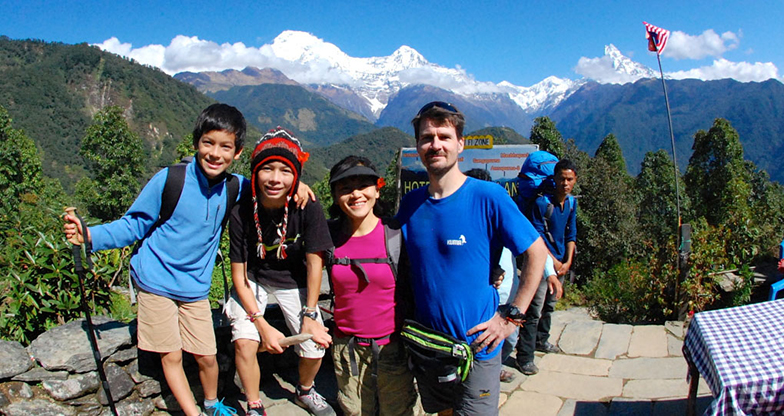 Family Tour in Nepal5