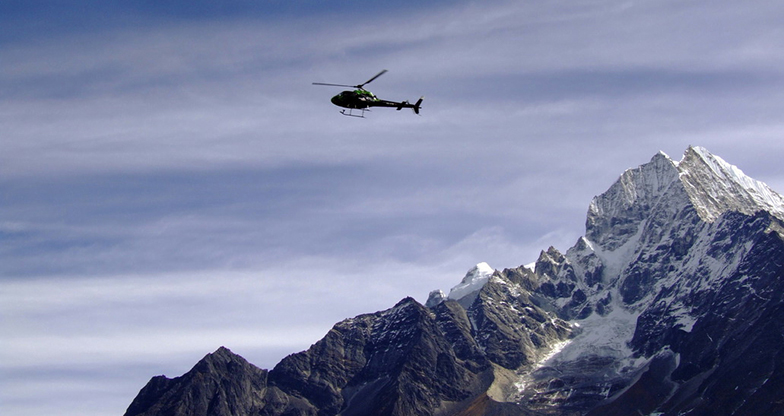 Mountain Flight in Nepal (3)