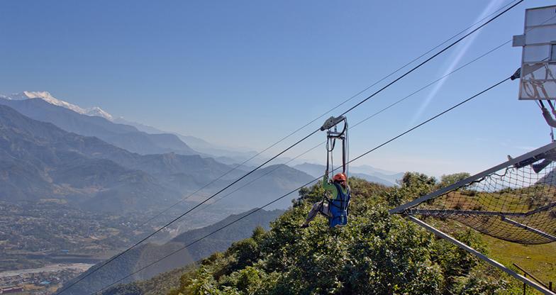 Zip flying in Nepal (4)