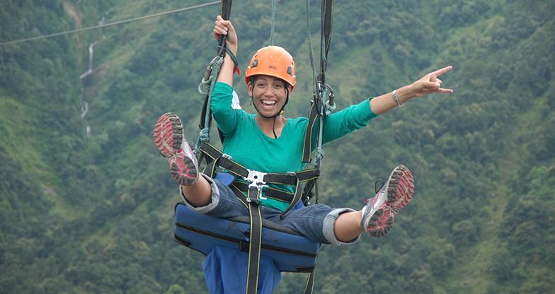 Zip flying in Nepal (5)