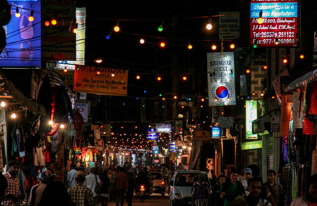 Nightlife in Thamel