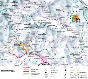 Ghorepani -Poonhill -Ghandruk Trek