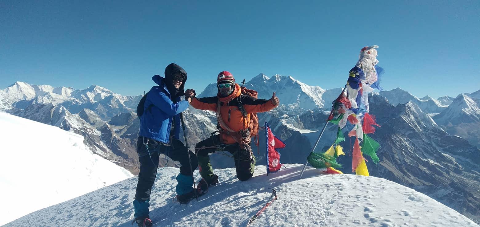 16 days Mera Peak Climbing
