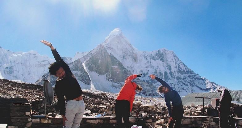 17 days Everest Base Camp with Island Peak Climbing
