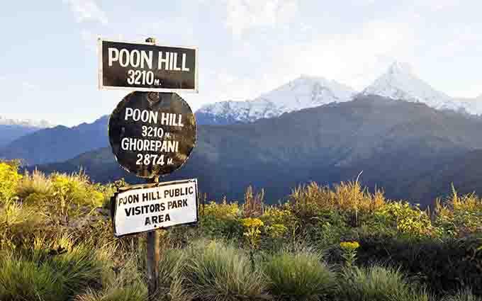 5 days Ghorepani-Poonhill Trek